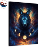 Abstract Wolf Dream Catcher by JoJoes