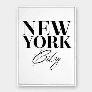 New York City Canvas wall art decor