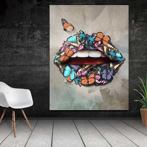 BUTTERFLIES LIPS