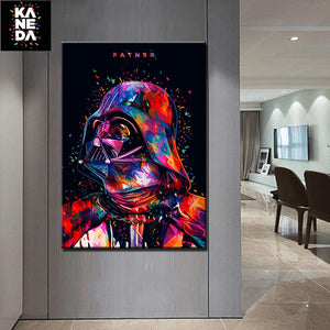 Star War Darth Canvas Art Painting