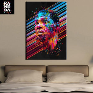 Kevin Durant Canvas Painting for bedroom