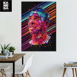 HD Basketball Player Canvas Art