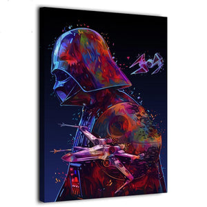 Star Wars Darth Vader Canvas Art Painting