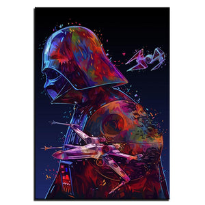 Darth Vader Wall Art Painting