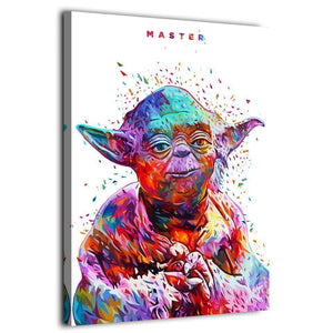 Star War Master Yoda Kaneda HD Canvas Art Painting