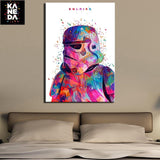 War Soldier Canvas Painting