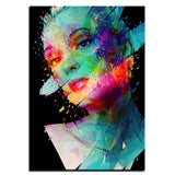 Woman Canvas Art