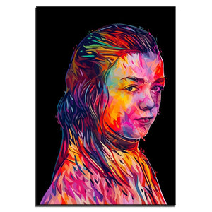 Arya Game of Thrones Canvas Art