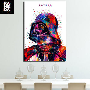Star War Father Darth Vader Painting