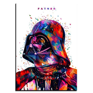 Star War Father Darth Vader Artwork