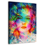 HD Canvas Art Woman Painting