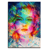 HD Women Canvas Art