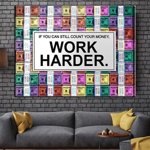 Work Harder Painting