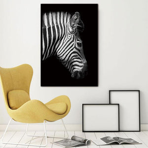 Quagga Profile wall art decor