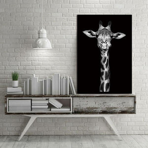 The Proud Giraffe wall art decor