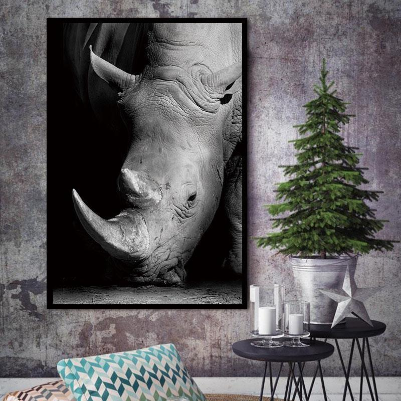 The Vicious Rhino wall art decor