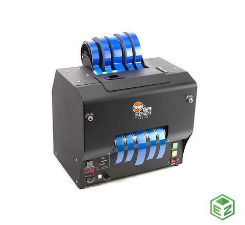 "No. Parte. TDA150-FM Dispensador de Cinta Eléctrico, Marca START INTERNATIONAL, Ancho 0.25"" a 5.9"" (6 a 150 mm), Longitud de Cinta 1.6""a 394"" (40 a 9999 mm), Capacidad de Rollo 9 "" (228 mm)."