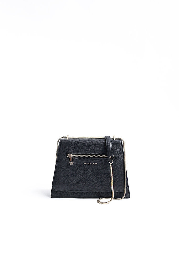 MARLOW Leather Handbag