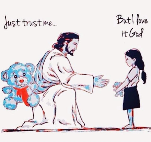 Sometimes you have to let go of something so God can give you something better