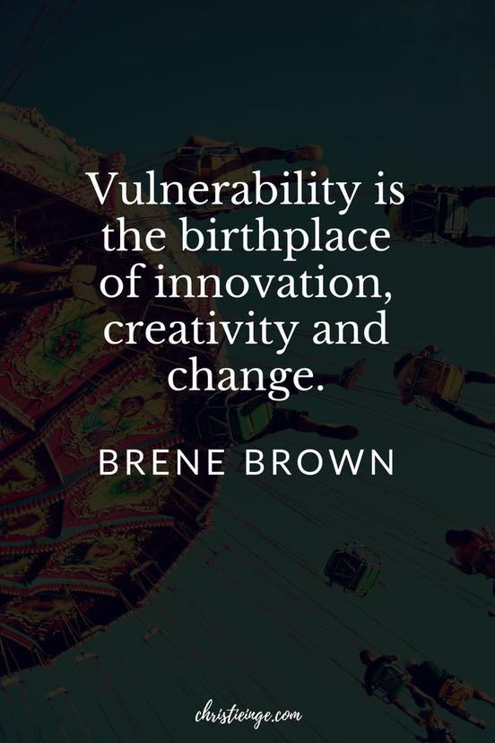 Connecting Through Being Vulnerable