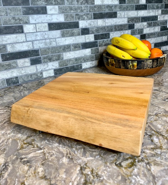 Mahogany Butcher Block by Atelier Calla from Haiti