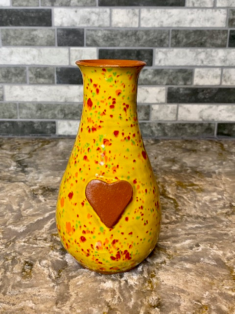 Ceramic Vase by Papillon from Haiti