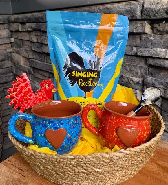 Haiti Coffee and Rooster Gift Bundle