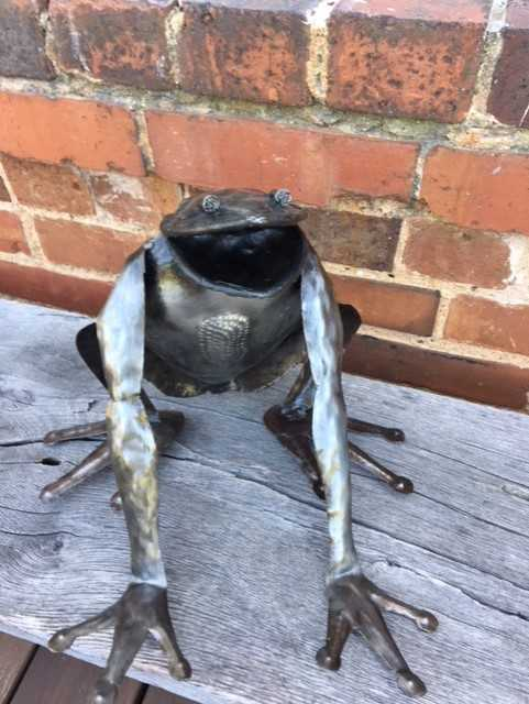 Steel Drum Frog by Papillon from Haiti