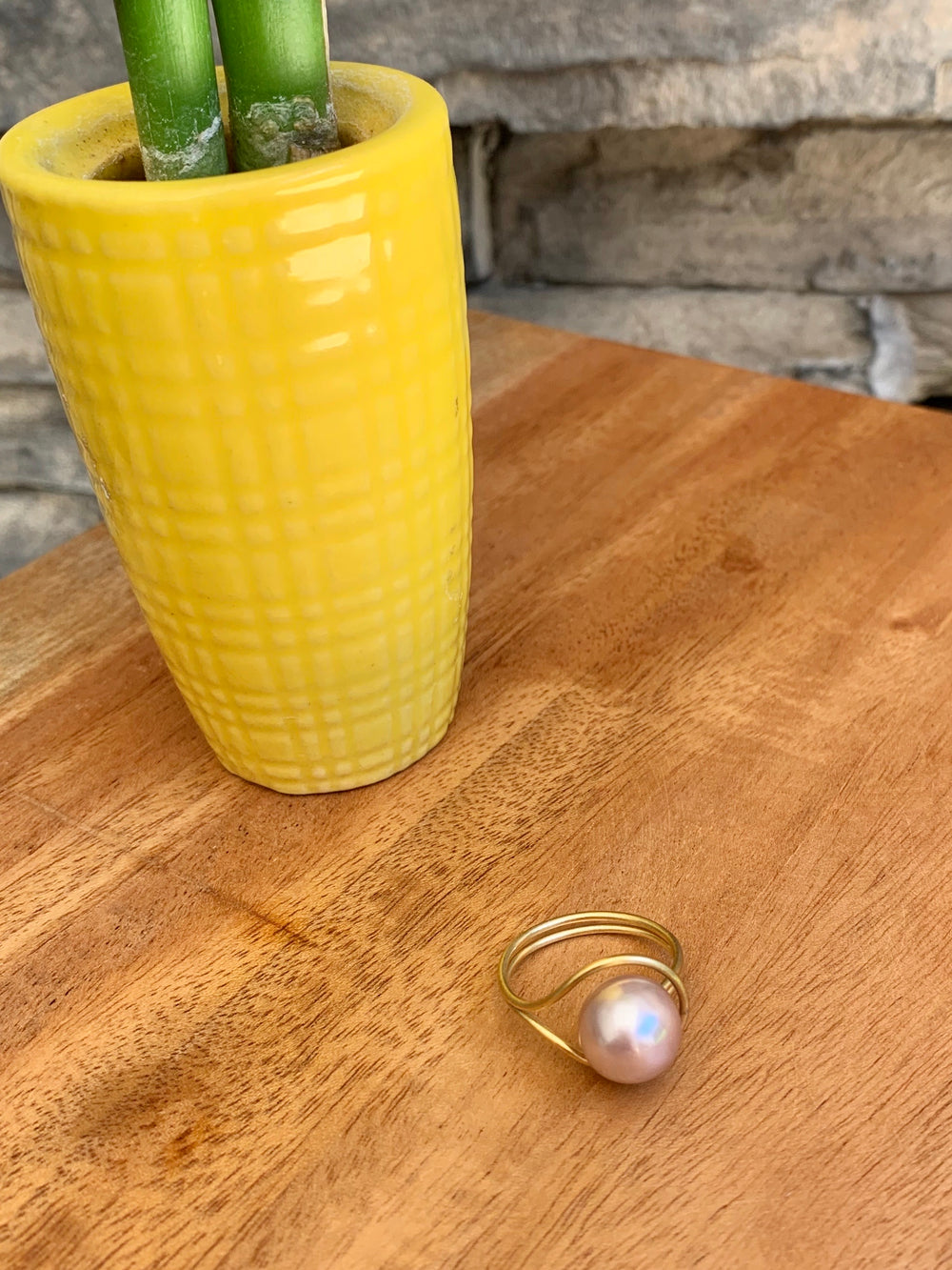 fresh water pearl ring from Thailand