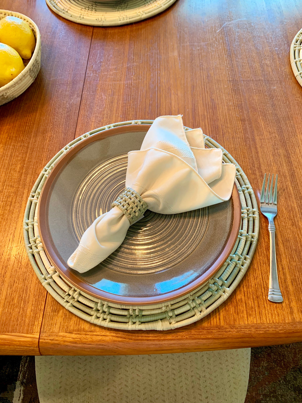 Woven Placemat by 2nd Story Goods from Haiti