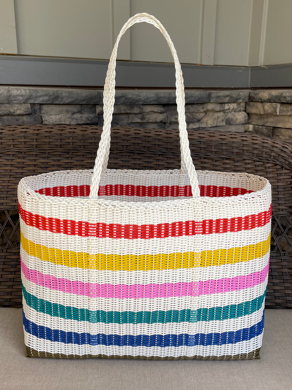 Pack Mule Large Basket Tote by Sueno Canastas from Guatemala