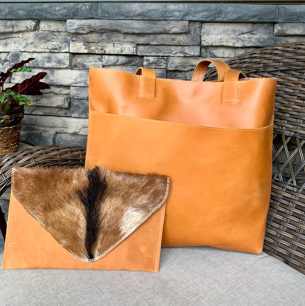 Silenat Clutch Tote by iDefend from Ethopia