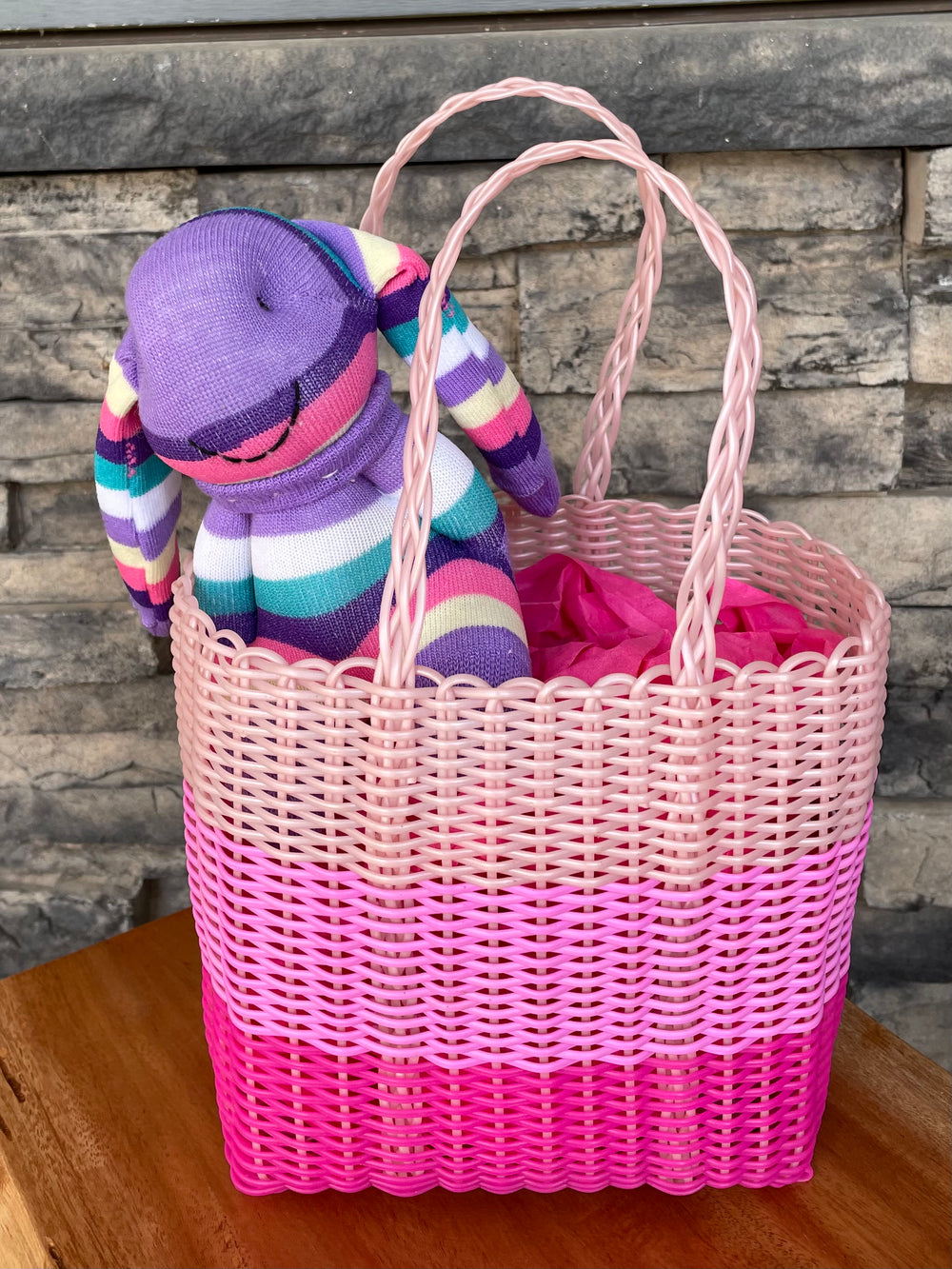Little Girl Basket Tote by Sueno Canastas from Guatemala