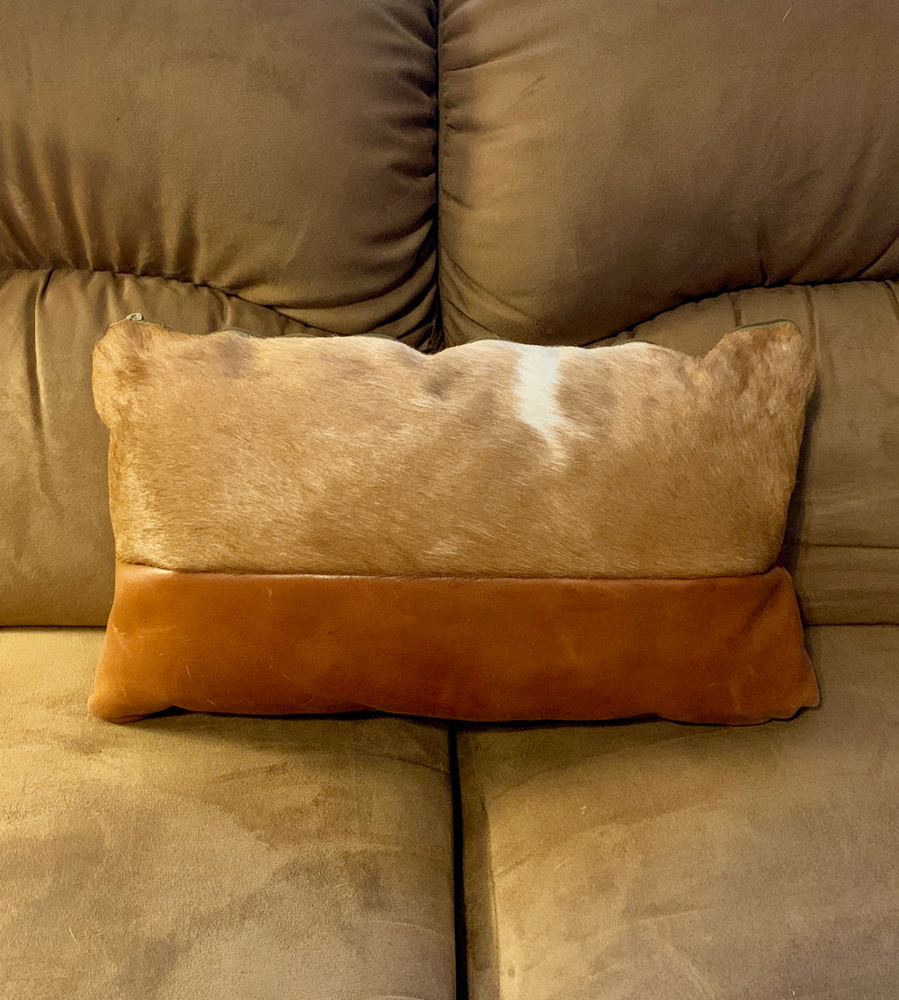 Rectangle Goat Hair Pillow by iDefend from Ethopia