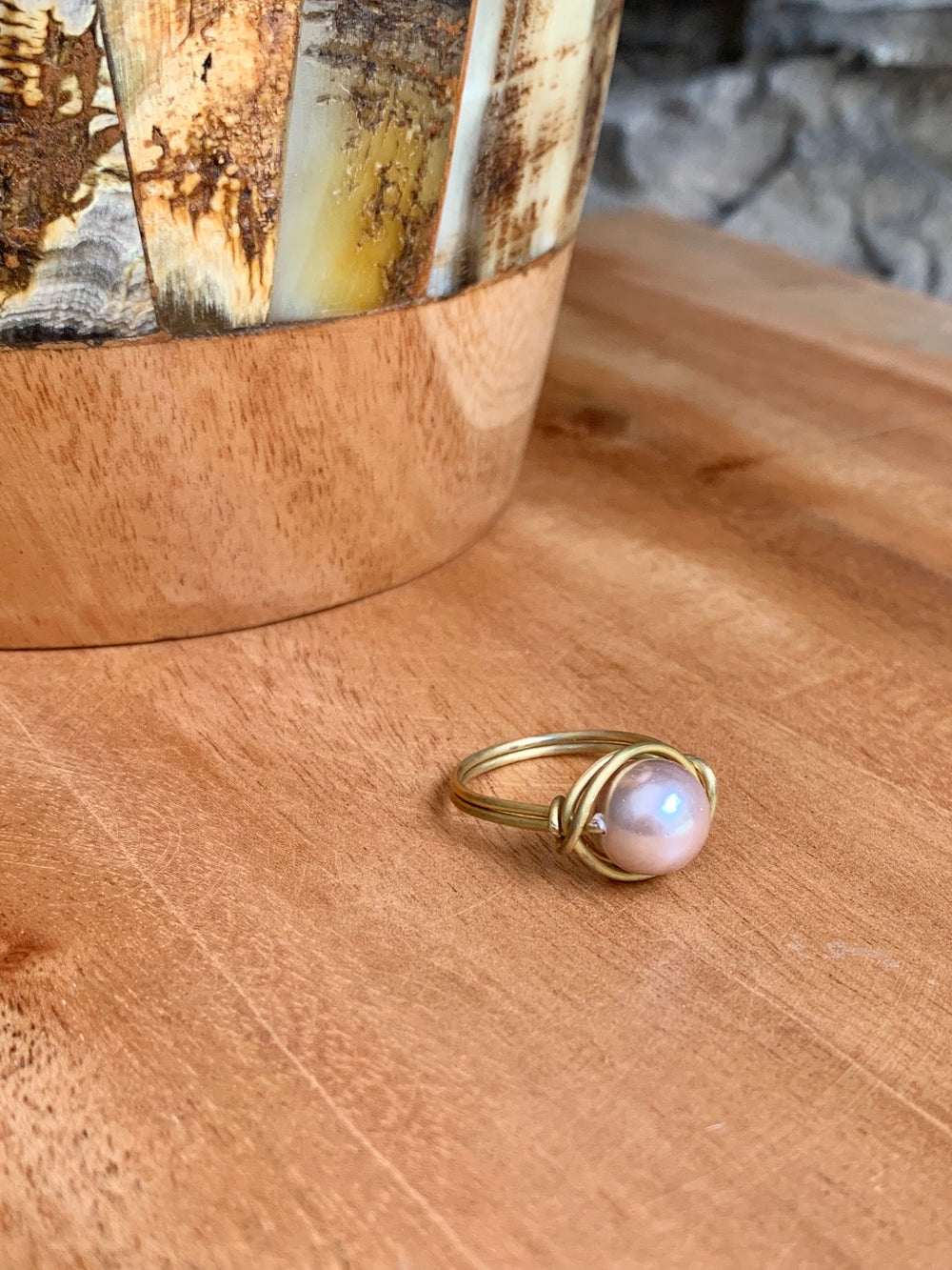 Nest Ring by Samaritan Creations from Thailand