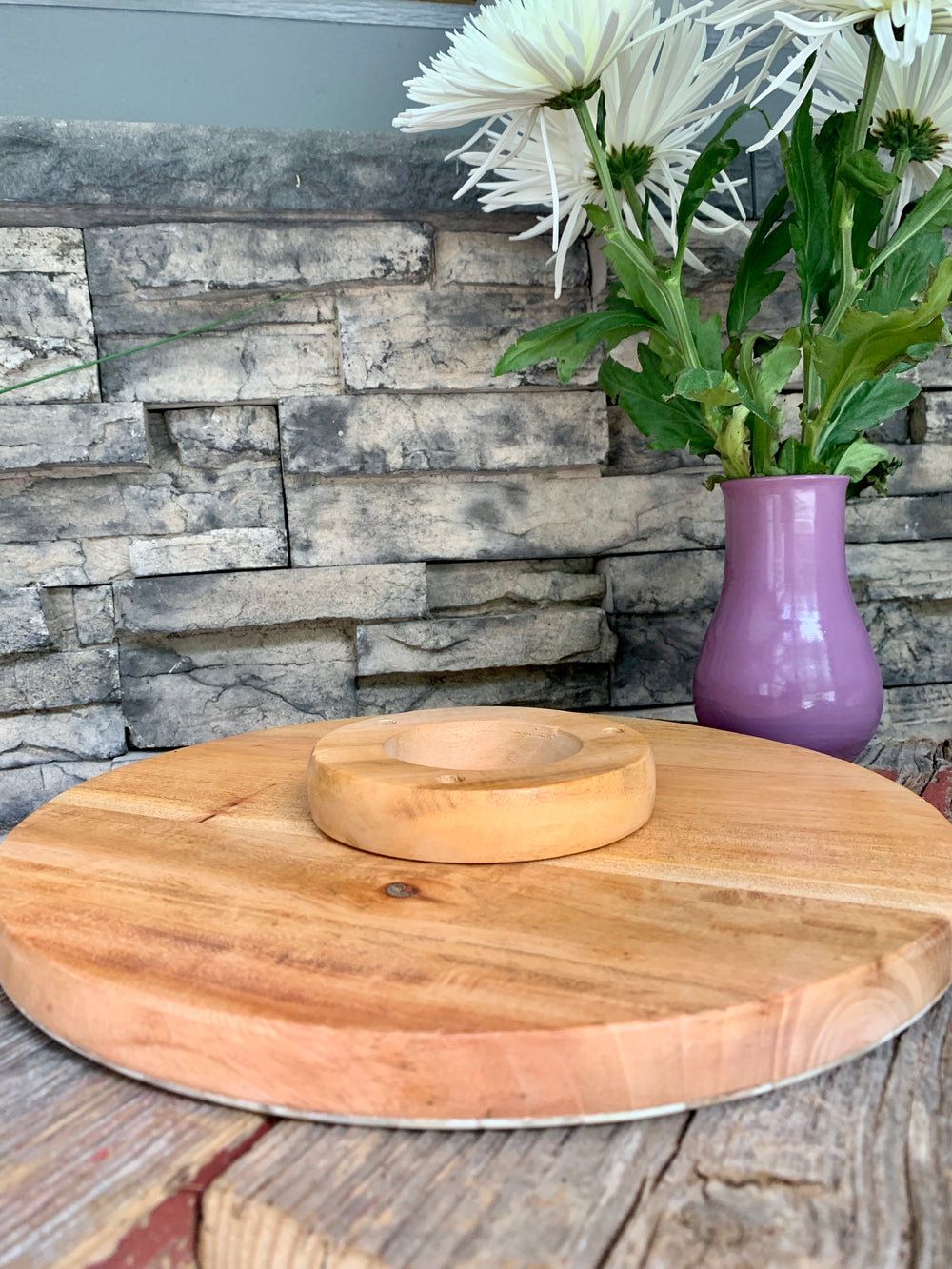 Cake Platter and Charcuterie Board by Atelier Calla from Haiti