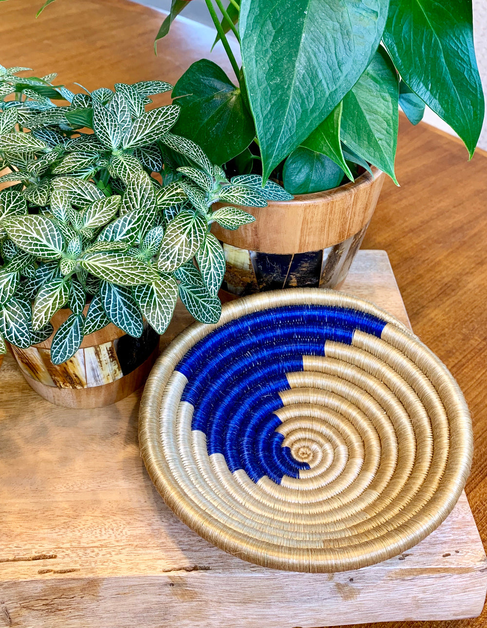 Small Woven Bowl by Azizi Life from Rwanda