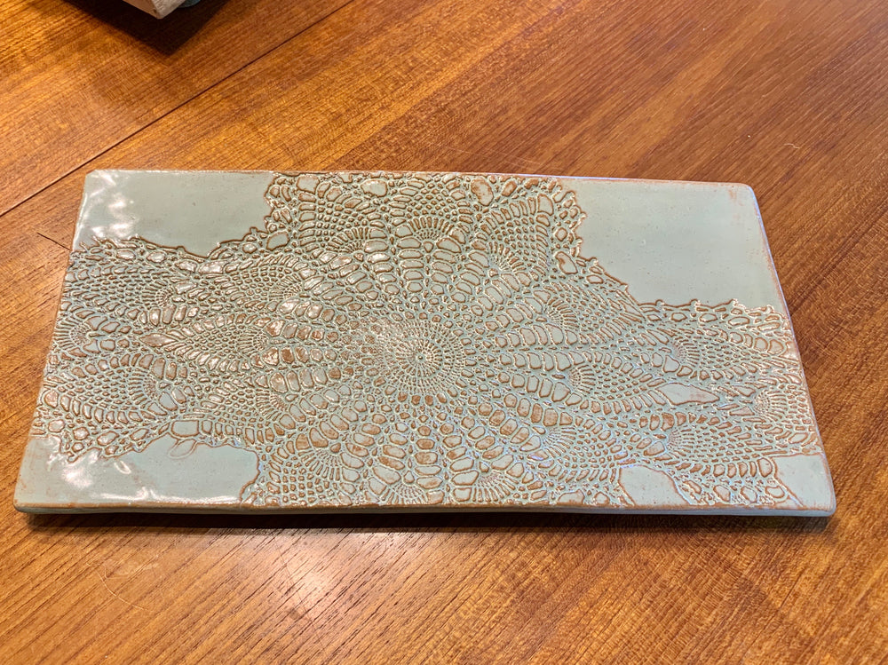 Large Rectangular Platter by Prodigal Pottery from Alabama