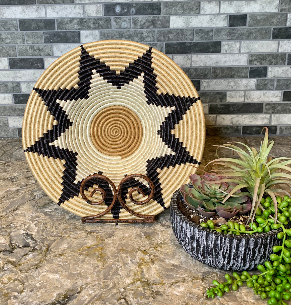 Hat Basket by Azizi Life from Rwanda
