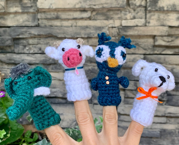 Finger Puppets by Azerbaijani Socks from Azerbaijan