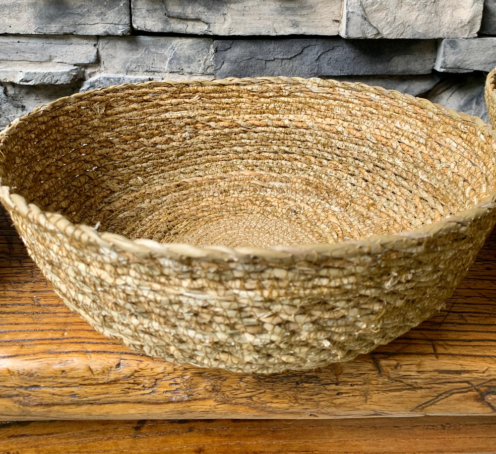 Hogla Rope Bowls by Rahab's Rope from India