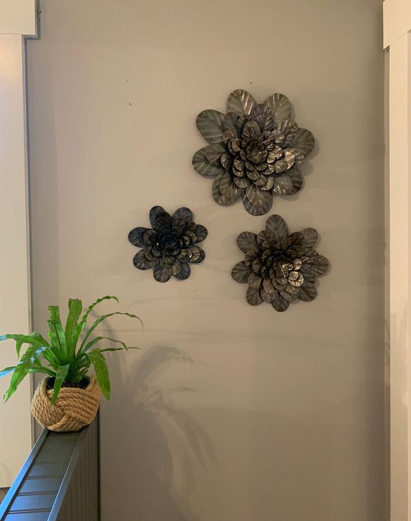 3-D Flowers by Papillon from Haiti