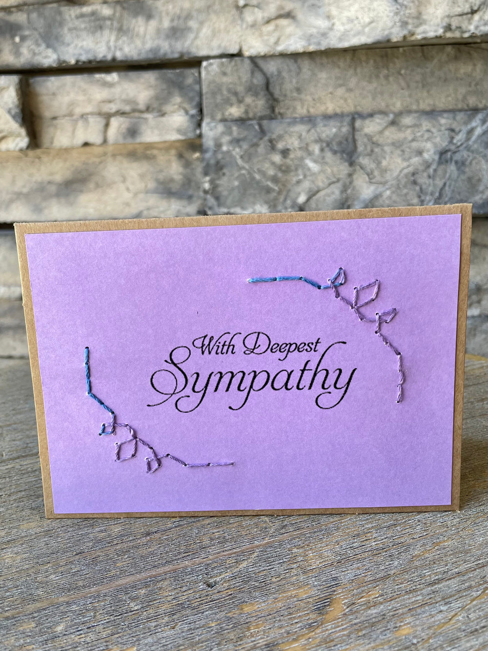 Sympathy Card by Rosie's Boutique from Haiti