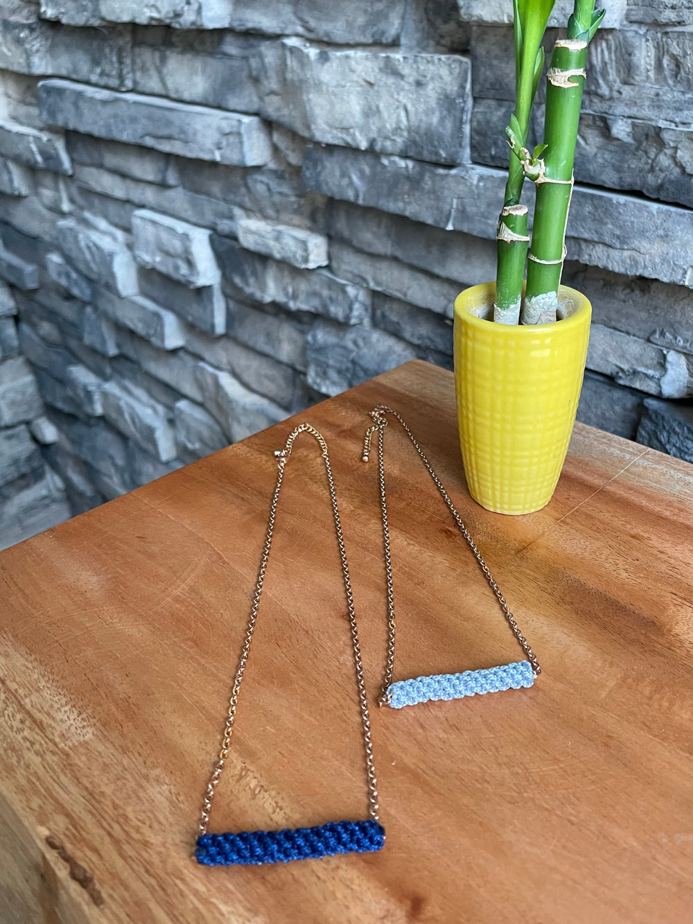 Bar of Courage Necklace by Freeleaf from Asia