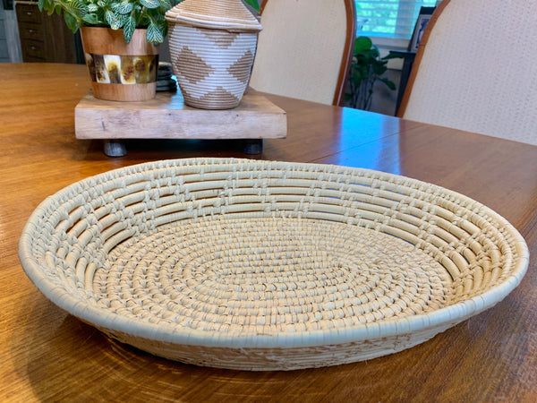 Large Oval Basket by 2nd Story Goods from Haiti
