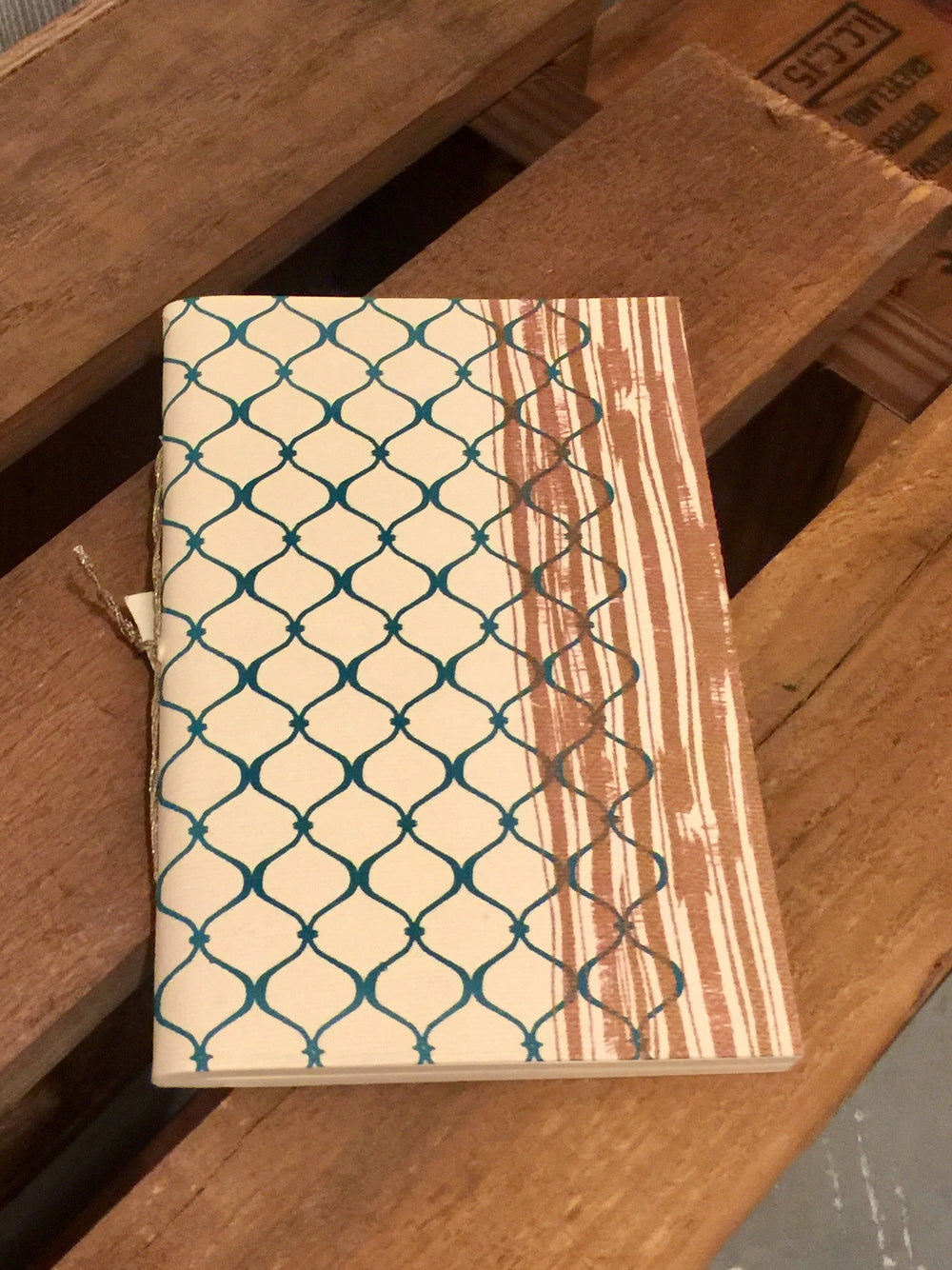 Small Paper Diary by Village Artisan from Asia