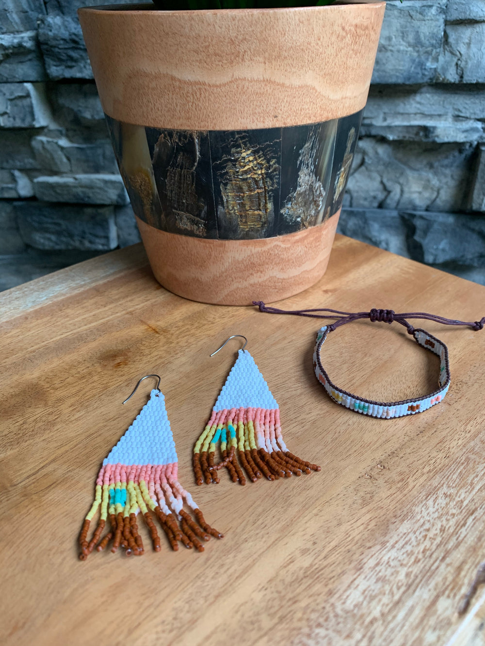 Courage Earrings by Vi Bella from Haiti