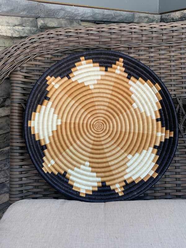Large Woven Basket by Azizi Life from Rwanda