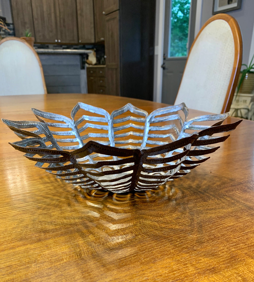 Flower Frame Bowl by Papillon from Haiti