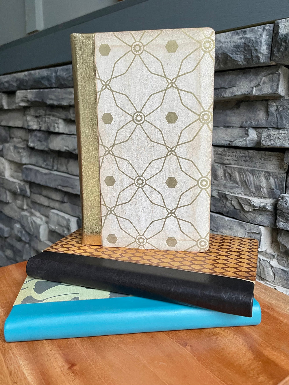 Wooden Diary by Village Artisan from Asia